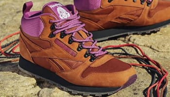 Reebok Classic Leather Mid R12 Brown/Purple