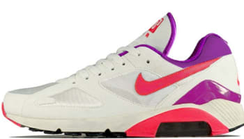 Nike Air Max 180 QS Summit White/Laser Crimson