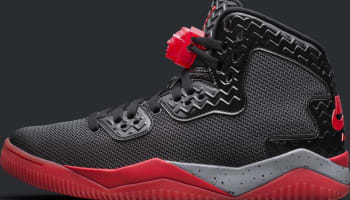 Air Jordan Spike Forty PE Black/Cement Grey-Fire Red
