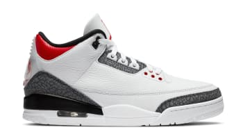 Air Jordan 3 Retro SE-T CO.JP White/Fire Red-Black