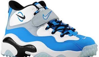 Nike Air Zoom Turf White/Metallic Silver-Photo Blue-Black