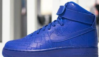 Nike Air Force 1 High Women's Deep Royal Blue/Deep Royal Blue