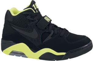 Nike Air Force 180 Black/Black-Volt