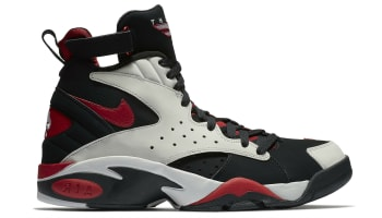 Nike Air Maestro 2 LTD Black/Vast Grey-Gym Red