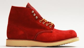 Red Wing Plain Toe Red/Red