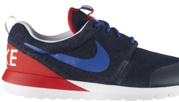 Nike Roshe Run NM W SP Navy Heather/Game Royal-University Red