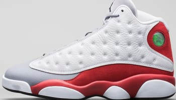 Air Jordan 13 Retro White/Black-Gym Red-Cement Grey