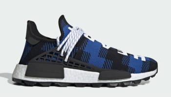 bc7b5375719a BBC x Adidas Pharrell NMD Hu Power Blue Core Black Cloud White
