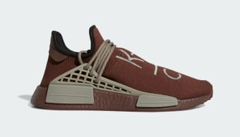 Pharrell x Adidas NMD Hu Auburn/Auburn/Simple Brown