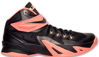 Nike Zoom Soldier VIII Black/Bright Mango-Peach Cream-Dark Grey