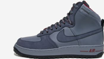 Nike Air Force 1 High Deconstructed Military Boot QS Cool Grey/Anthracite-Team Red