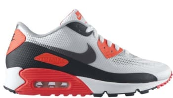 Nike Air Max '90 Hyperfuse NRG White/Cement Grey-Infrared