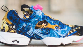 Reebok Instapump Fury Collegiate Royal/Black-Trophy Gold