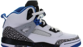 Jordan Spiz'ike GS White/Sport Blue-Black-Wolf Grey