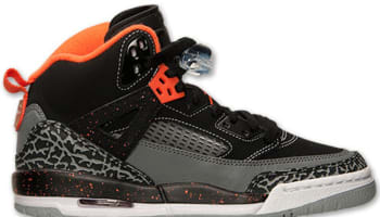 Jordan Spiz'ike GS Black/Electro Orange-Cool Grey-Wolf Grey