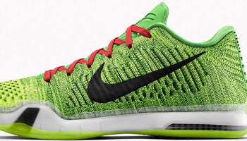 NIKEiD Kobe X Elite Low Grinch