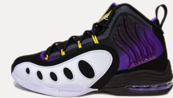Nike Sonic Flight Black/Purple Venom-White-Tour Yellow