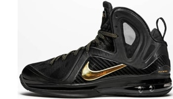 Nike LeBron 9 PS Elite Black/Metallic Gold
