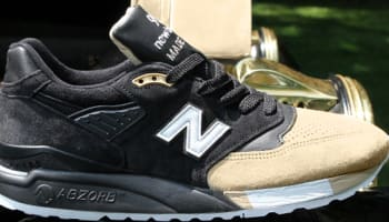 New Balance 998 Black/Tan-White