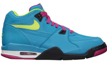 Nike Air Flight '89 Dynamic Blue/Volt-Fireberry-Black