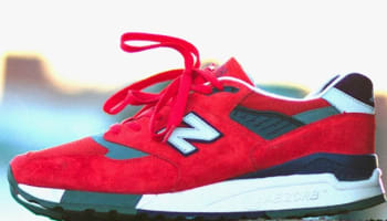 New Balance 998 Red/Purple-Grey