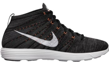 Nike Lunar Flyknit Chukka Midnight Fog/White-Total Orange-White