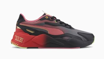 Sonic x Puma RS-X3 Puma Black-High Risk Red