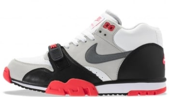 Nike Air Trainer 1 Mid Premium QS White/Cool Grey-Cement Grey-Black