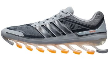 adidas Springblade Light Grey/Metallic Silver-Zest