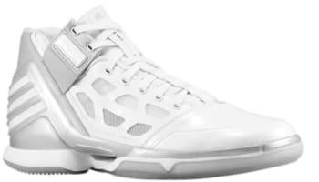 adidas adiZero Rose 2 White/White-Silver