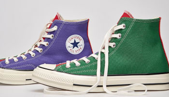 Converse Chuck Taylor All Star 1970s Hi Nightshade/Red-Green