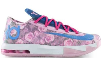 Nike KD VI Supreme Light Arctic Pink/Photo Blue-Vivid Pink