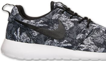 Nike Roshe Run Print Cool Grey/White-Wolf Grey-Black
