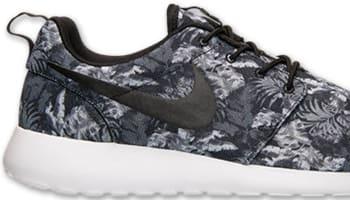 Nike Roshe Run Print Cool Grey/White-Wolf Grey-Black