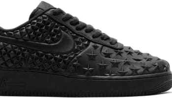 2055871e030d Nike Air Force 1 Low  07 LV8 VT Black Black-Black