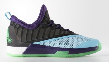 adidas Crazylight Boost 2.5 Dark Purple/Shock Pink-Black