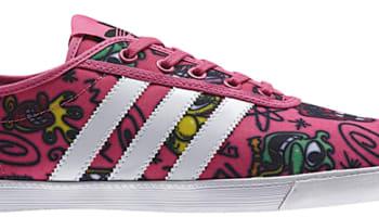adidas JS Plimsole Pink/White-Black