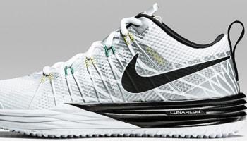 Nike Lunar TR1 Metallic Silver/Black-White