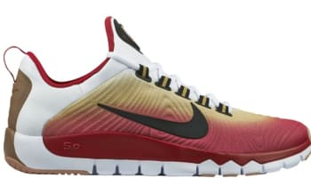 Nike Free Trainer 5.0 NRG White/Black-Chilling Red-Gum Medium Brown