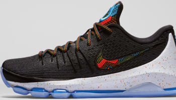 Nike KD 8 BHM Black/Multi-Color