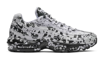 Cav Empt x Nike Air Max 95 White/Black-Stealth