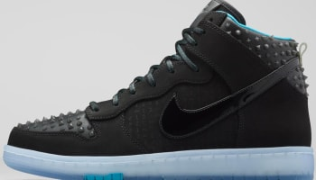 Nike Dunk High CMFT Premium AS QS Black/Black-Hyper Jade