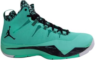 Jordan Super.Fly 2 Green Glow/Black Spruce-White