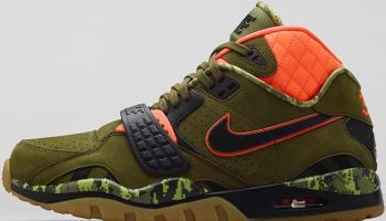 Nike Air Trainer SC II Premium Faded Olive/Black-Hyper Crimson