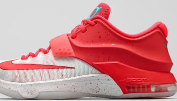 Nike KD VII Bright Crimson/Ivory-Emerald Green