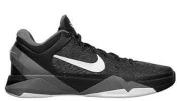 Nike Zoom Kobe 7 Black/White-Wolf Grey-Cool Grey