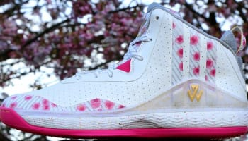 adidas J Wall 1 White/Gold Metallic-Pink