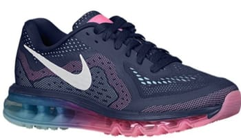 Nike Air Max 2014 Women's Midnight Navy/Sail-Pink Glow-Glacier Ice