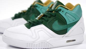 Nike Air Tech Challenge II SP White/Jade Glaze-Gorge Green