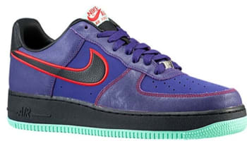 Nike Air Force 1 Low Court Purple/Black-University Red